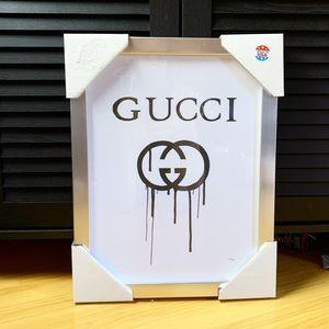 Gucci framed picture artwork Fairchild Paris